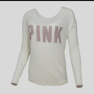 Victoria's  Secret PINK Long Sleeve Tee NWT